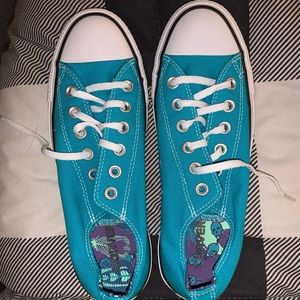 Size 8 Women's Turquoise Converse